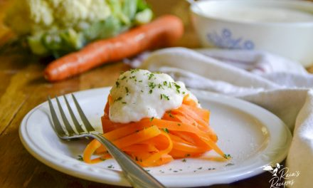 One-Ingredient Carrot Fettuccini