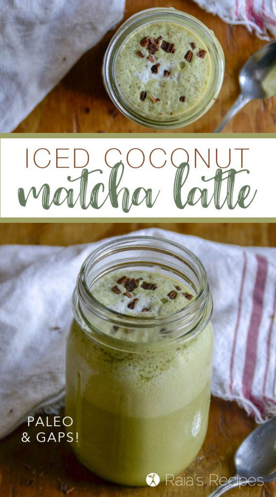 Need a healthy and delicious coffee alternative? Give this Iced Coconut Matcha Latte a try! It's packed with nutrition and ready to give you a gentle energy boost.