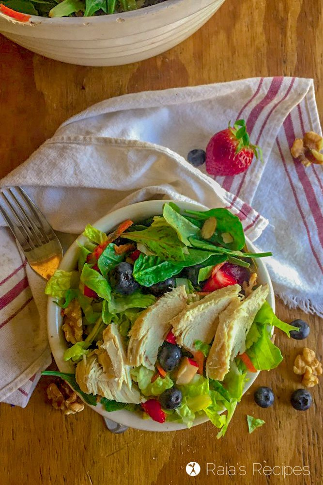 paleo Copy-Cat Chick-fil-A Market Fresh Salad iPhone