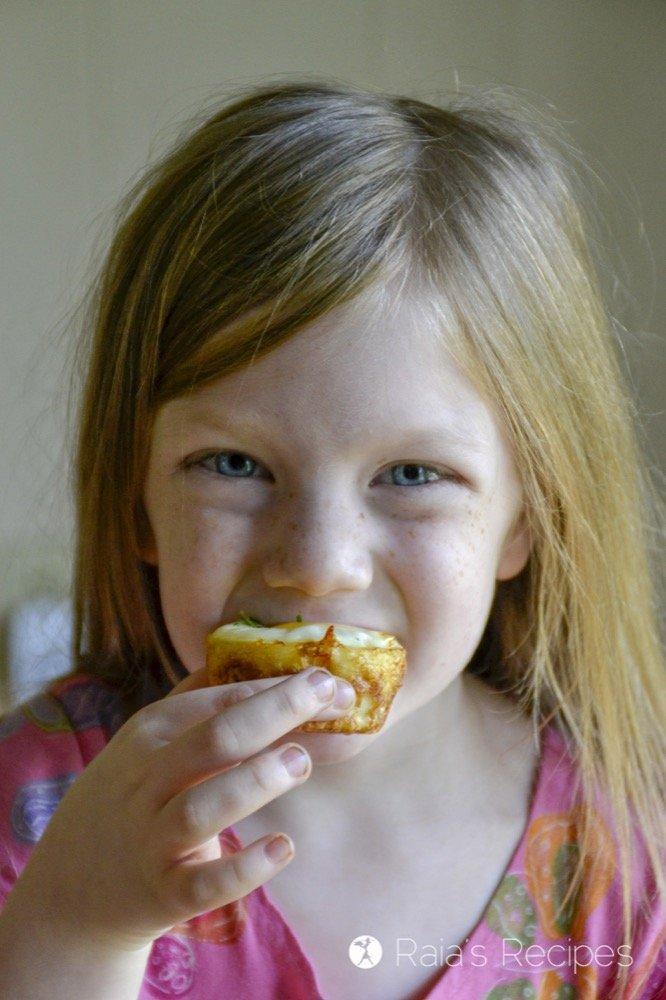 Egg & Potato Breakfast Muffins 5yo