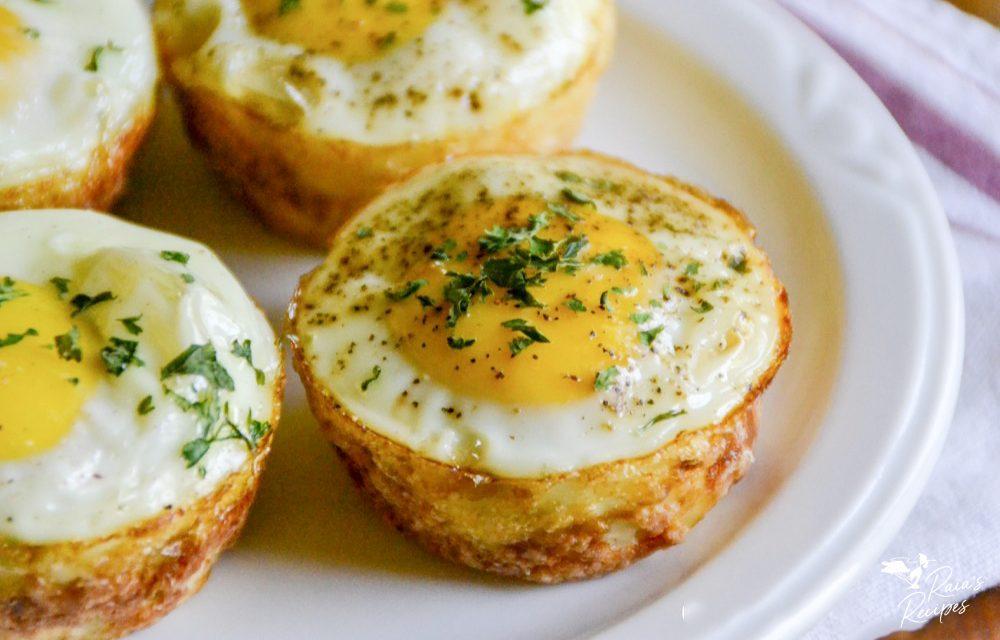 Easy Egg & Potato Breakfast Muffins