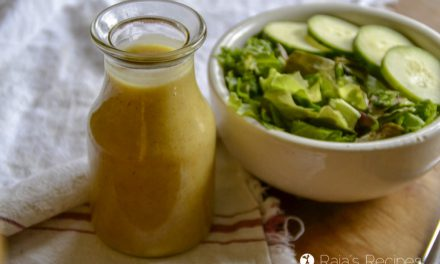 3-Ingredient Honey Mustard Dressing