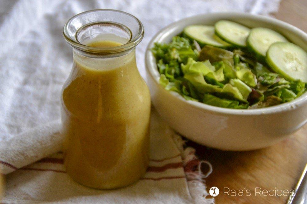 3-Ingredient Honey Mustard Dressing layout