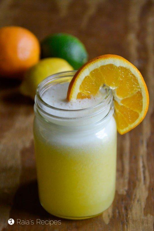 Paleo Summer Drinks Electrolyte Drink