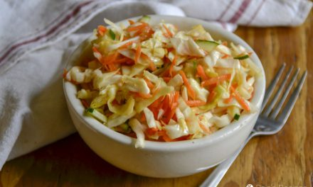 Quick & Simple Coleslaw