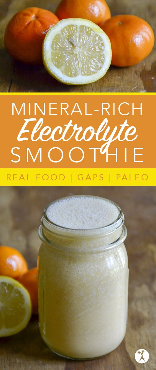 Need a delicious way to replenish your body's resources during the hot summer months? This paleo, Mineral-Rich Electrolyte Smoothie will do the job!