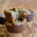 Banana Avocado Mint Muffins