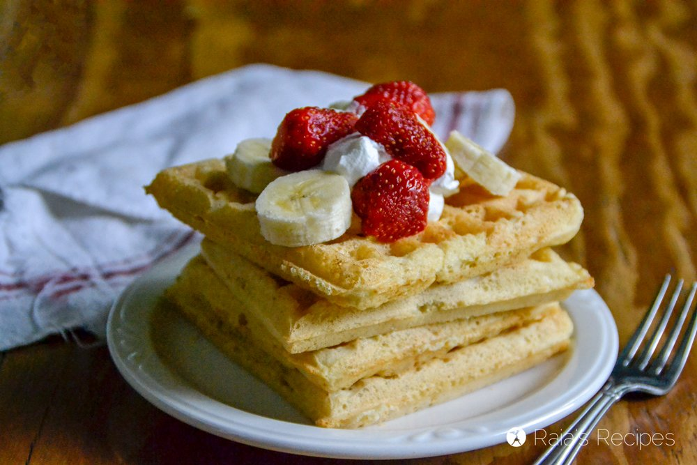 Sourdough Almond Flour Waffles 4
