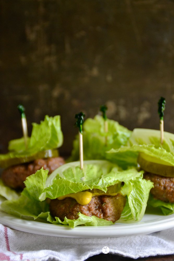 Paleo Meatloaf Sliders from Raia's Recipes