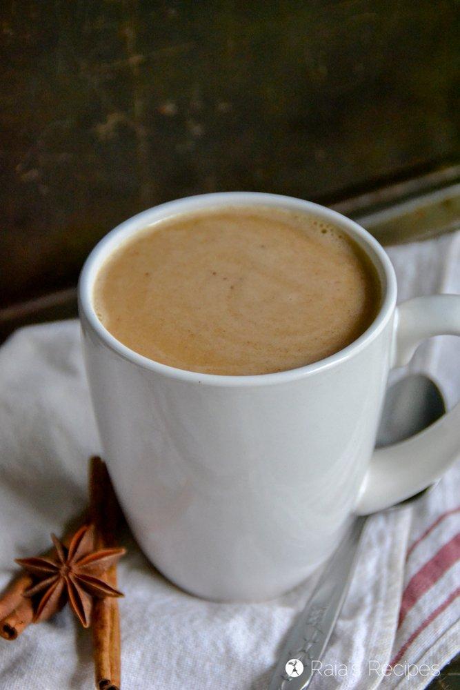 Pumpkin Chai Latte 7