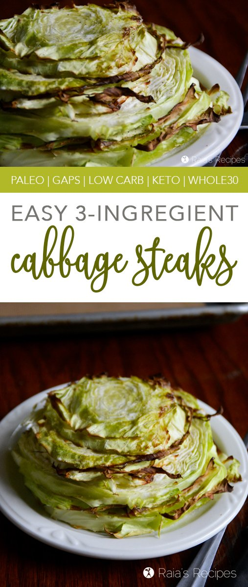 These 3-Ingredient Cabbage Steaks are a perfect side dish for any meal. They're quick and easy, and don't require any special ingredients to make them delicious!