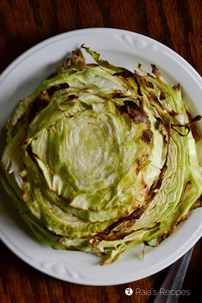 3-Ingredient Cabbage Steaks