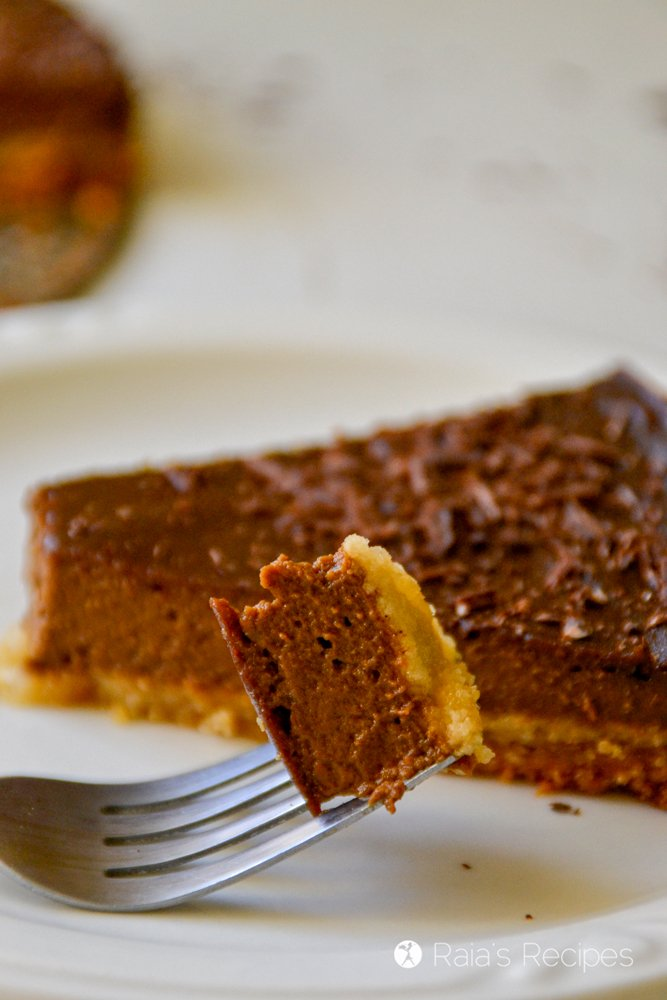 Chocolate Pumpkin Pie 12