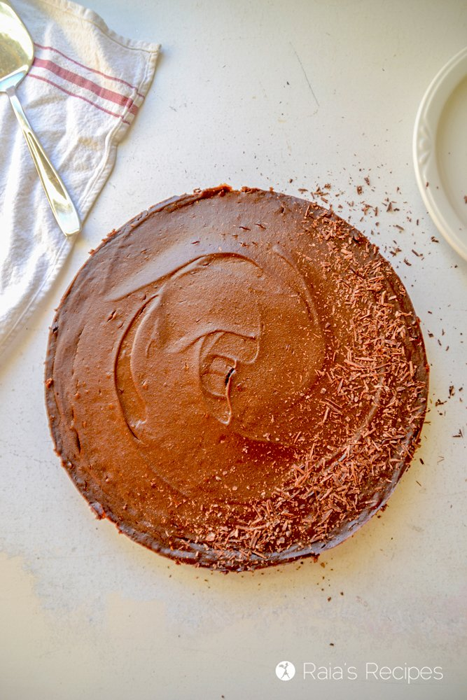Whole chocolate pumpkin pie from raiasrecipes.com