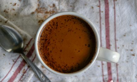 Easy Paleo Dark Chocolate Eggnog