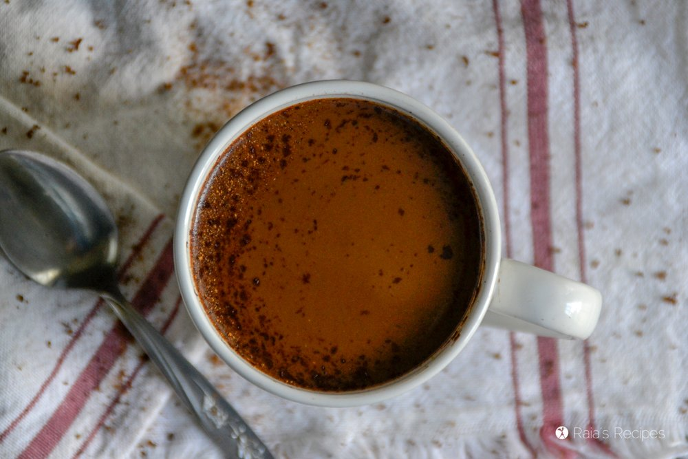 Paleo Dark Chocolate Eggnog 4