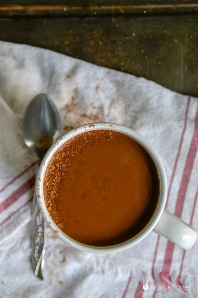 Paleo Dark Chocolate Eggnog 6