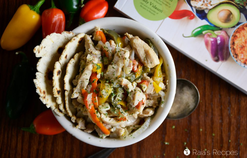 Chicken Fajitas in the Instant Pot