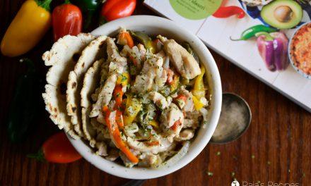 Chicken Fajitas in the Instant Pot
