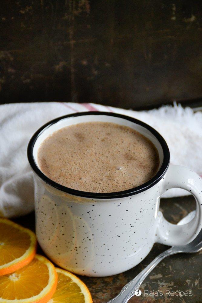 Almond Orange Hot Cocoa 1