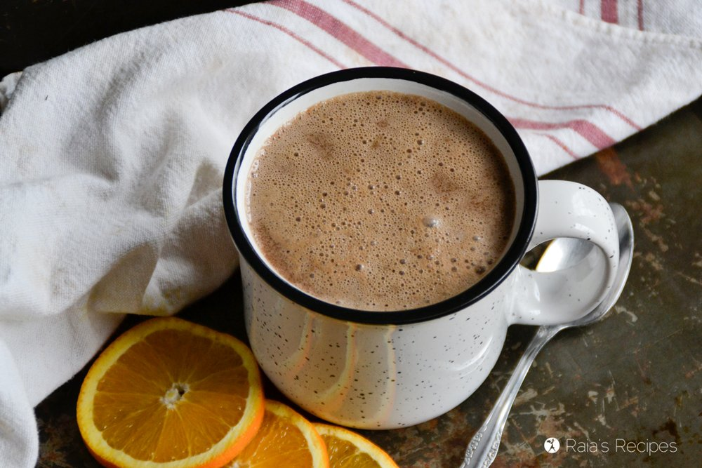 Almond Orange Hot Cocoa 3