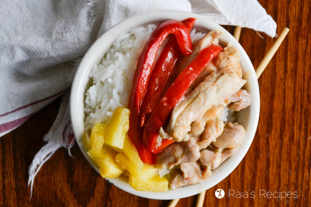 Paleo Sweet & Sour Chicken 2