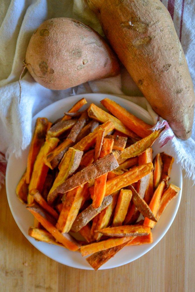Easy Sweet Potato Oven Fries 6