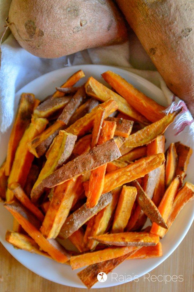 Easy Sweet Potato Oven Fries 7