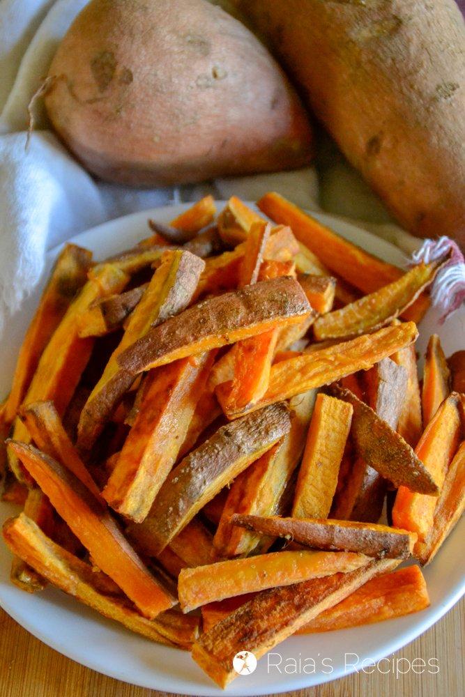 Easy Sweet Potato Oven Fries 8