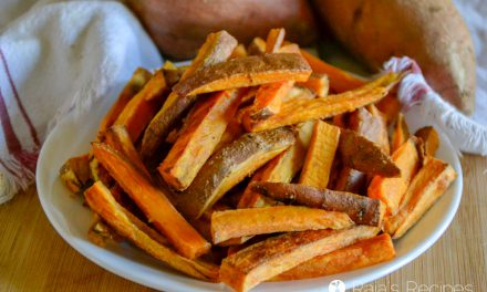 Easy Sweet Potato Oven Fries