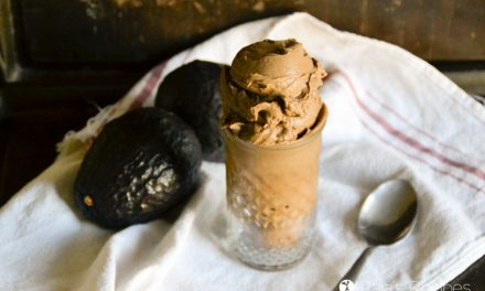 Chocolate Avocado Nice Cream