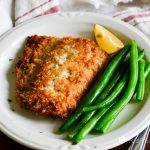 Crispy Coconut Pan-Fried Salmon