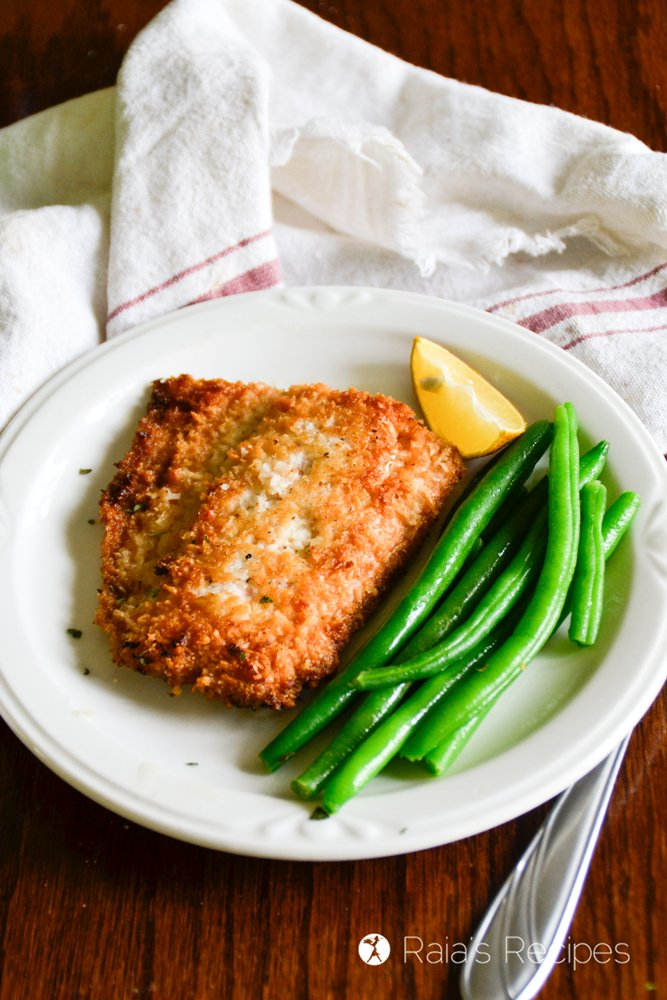 Crispy Coconut Pan-Fried Salmon : Whole30 Recipes