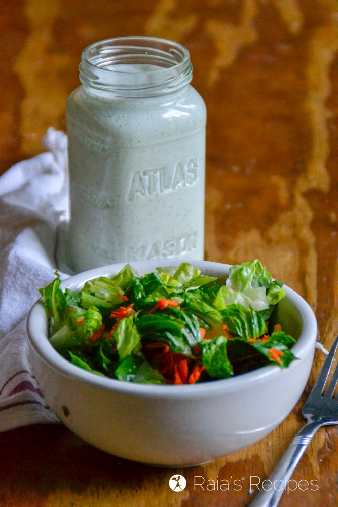 Probiotic Blender Ranch Dressing 1