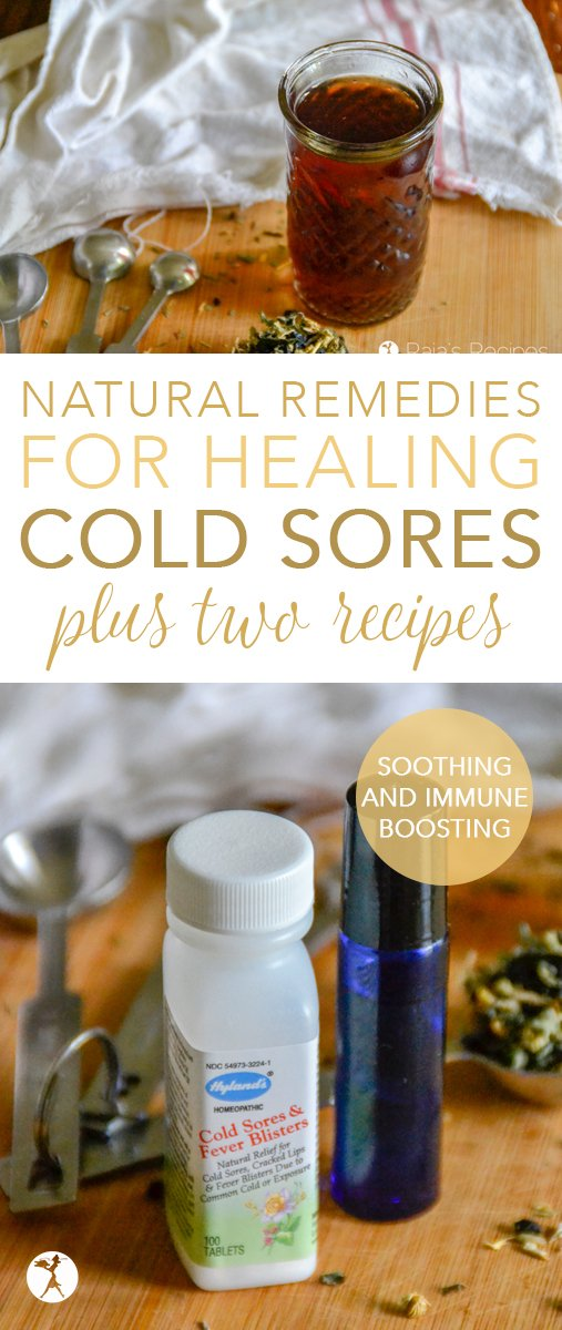 If you or someone you know suffers from cold sores or fever blisters, these natural remedies for healing cold sores are sure to help! Two easy essential oil and herbal recipes included... #naturalremedies #healing #coldsores #essentialoils #herbs #recipe #feverblisters #hsv1 #herpes