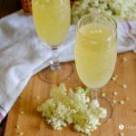 Honey-Sweetened Elderflower Champagne