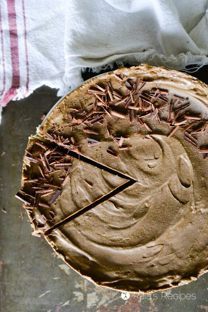 chocolate avocado tart 5