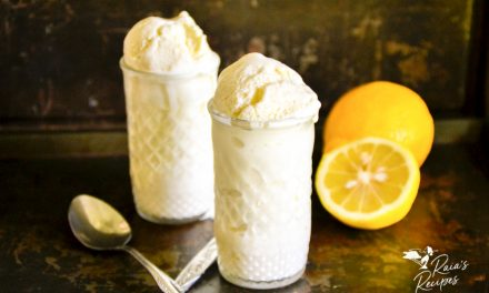 Creamy Lemon Ice Cream