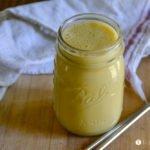 Anti-Inflammatory Banana Peach Smoothie