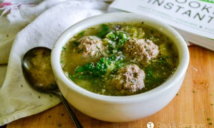 Italian Wedding Soup in the Instant Pot