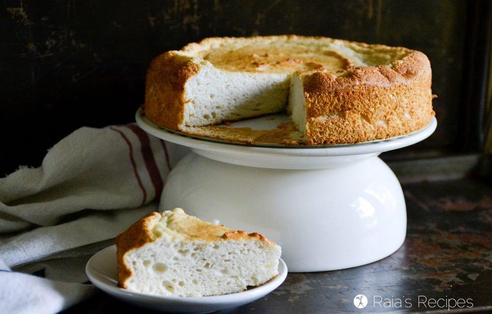 3-Ingredient GAPS Angel Food Cake