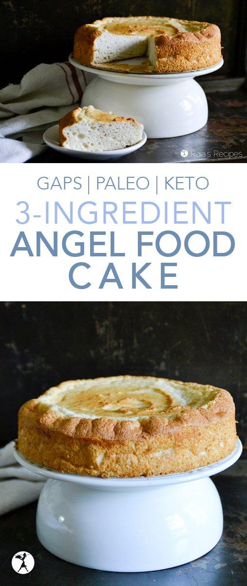Paleo Angel Food Cake Recipe