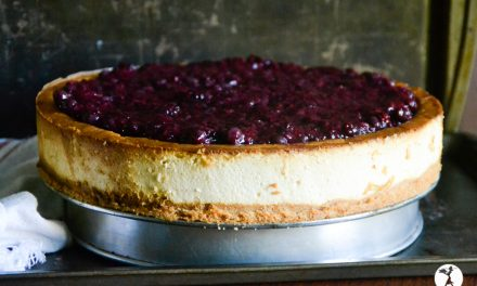 Grain-Free New York Style Cheesecake