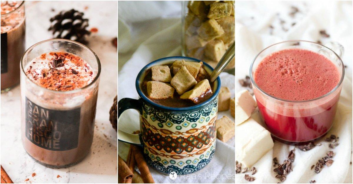 Nourishing Paleo Hot Chocolates