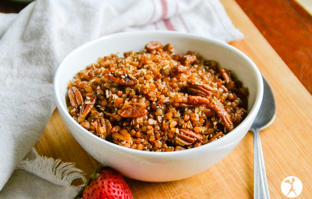 Soaked Buckwheat Cereal