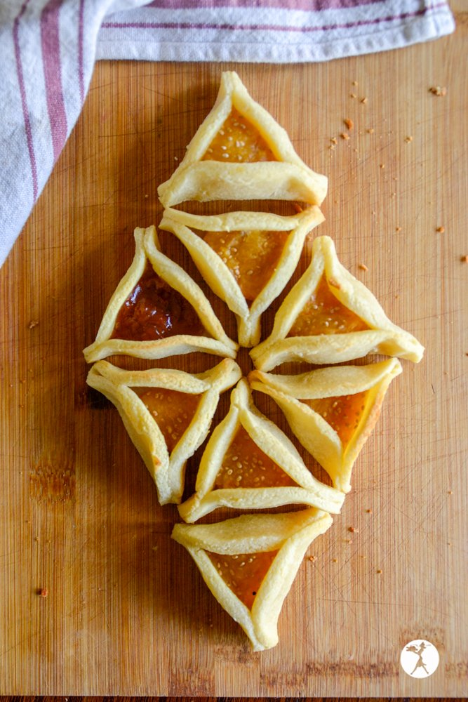 Hamantaschen diamond! raiasrecipes.com
