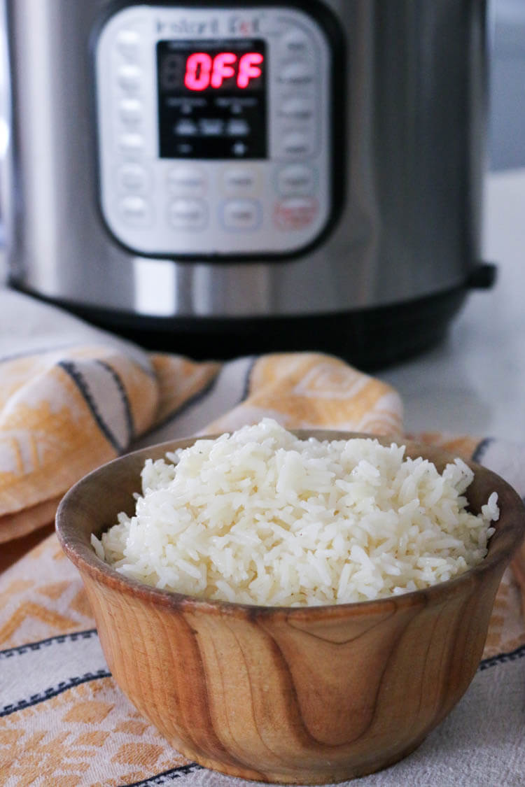 How to make rice in the Instant Pot. prepareandnourish.com