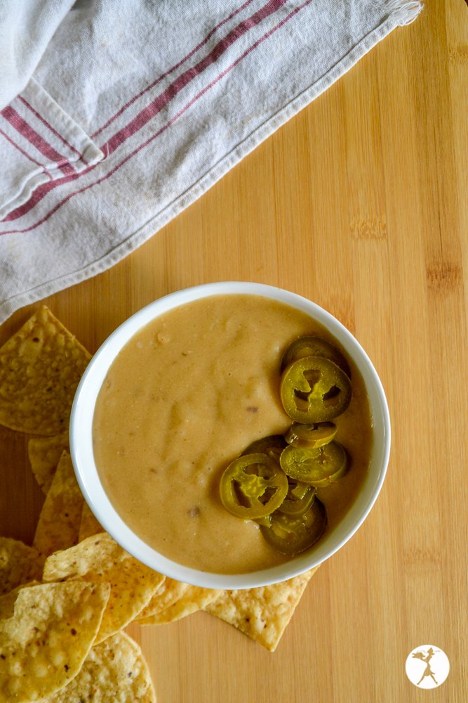 Top view of Jalapeno Cheese Dip from raiasrecipes.com