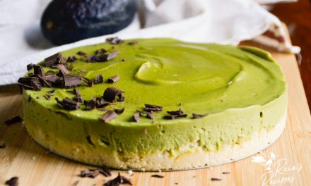 Paleo No-Bake Matcha Avocado Tart
