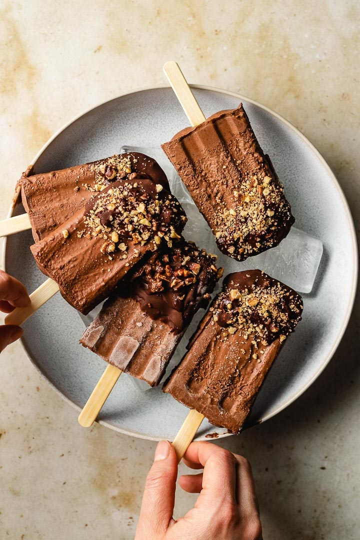 Chocolate Fudge Pops from I Heart Umami
